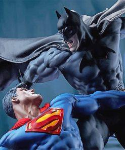 Batman VS Superman Paint by numbers