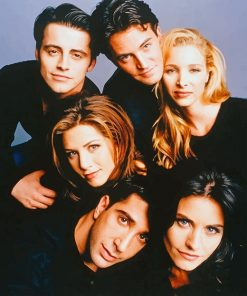 Friends The Series Paint by numbers