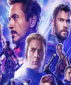 Avengers Endgame adult Paint by numbers