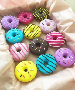 Colorful Doughnuts adult paint by numbers