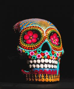 Day of the Dead Paint by number