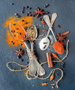 Spices Creative Photography adult paint by numbers