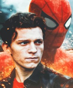Tom Holland Spider Man adult paint by number