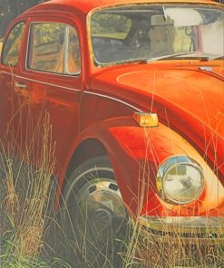Antique Beautiful Car paint by number