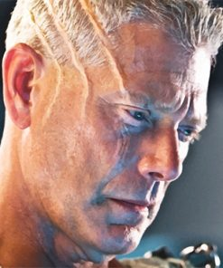 Avatar Stephen Lang Colonel paint by number