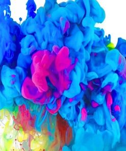 Beautiful Colorful Smoke paint by number