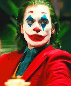 Joker Portrait paint by number