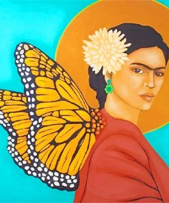 Butterfly Frida Kahlo Paint By Numbers