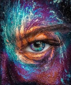 Beautiful eye adult paint by numbers