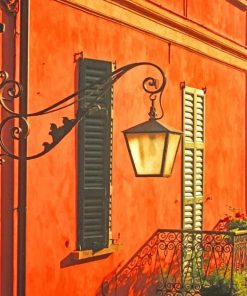 Classical Aesthetic Wall Paint by Numbers
