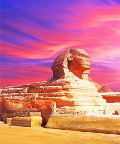 Great Sphinx Of Giza paint by number