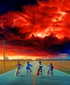 Stranger Things Paint By Numbers