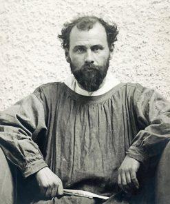Gustav Klimt Portrait paint by number