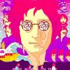 abstract john lennon adult paint by numbers