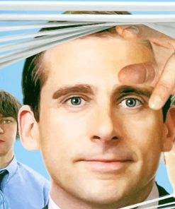 Michael Scott The Office paint by number