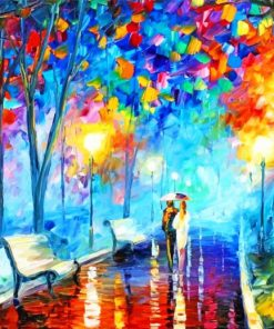 Modern Abstract Art Oil Painting Paint By Numbers