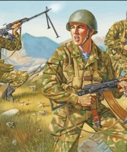Soviet Equipment In Afghanistan Paint By Numbers