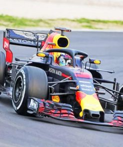 Red Bull Rb14 Race paint by numbers