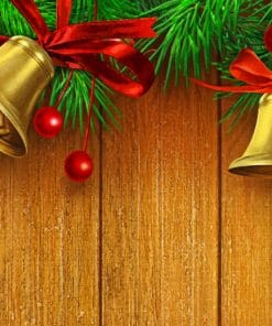 Jingle Bells Decoration paint by numbers