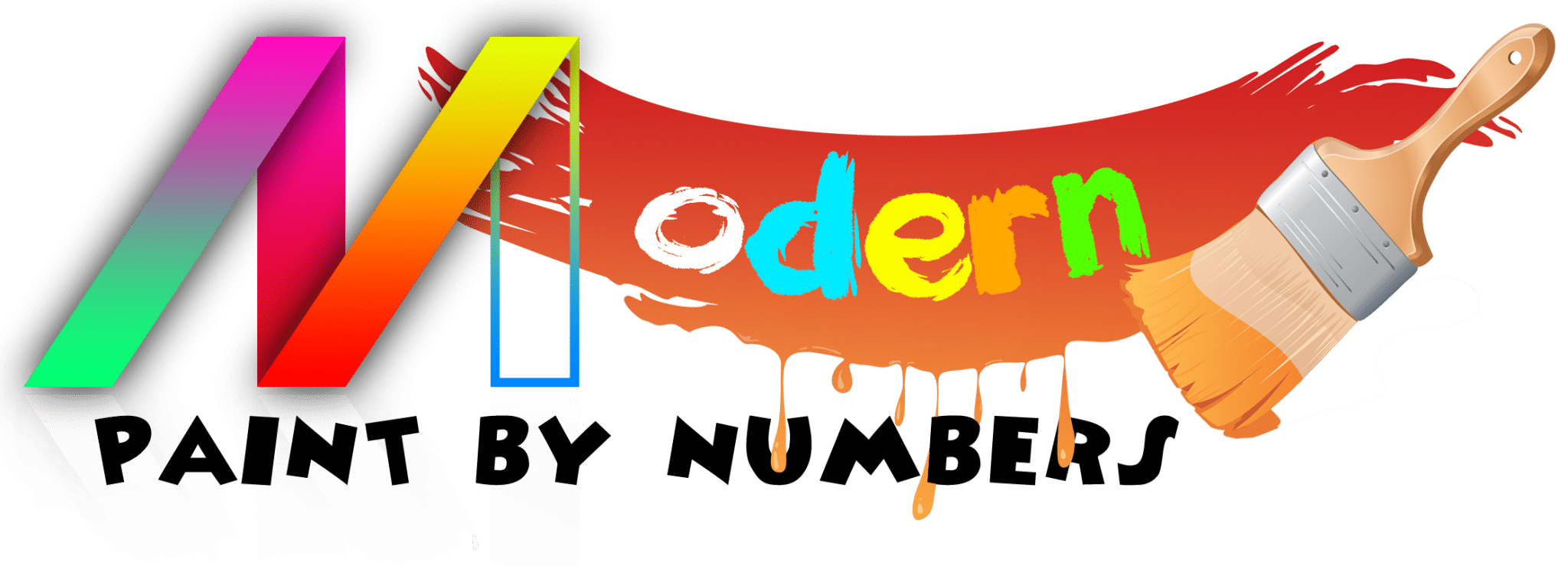 Modern Paint by numbers