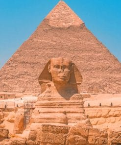The Great Pyramid Of Giza paint by numbers