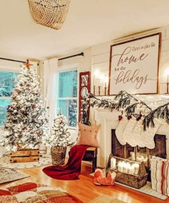 Christmas Decoration paint by numbers