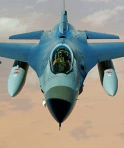 Fighter Jet Ghost paint by numbers Aircraft paint by numbers