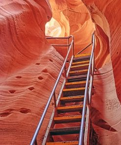 Lower Antelope Ladder paint By Numbers