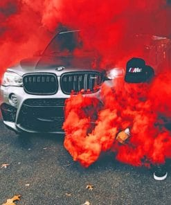 Bmw Smoke Paint By Numbers