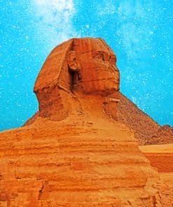 Great Sphinx Of Giza paint by numbers