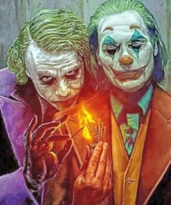 Jokers paint by numbers