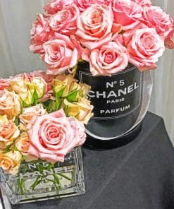 Chanel Birthday party paint by Numbers