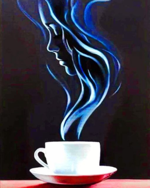 Coffee Art paint By Numbers