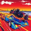 Formula One Paint By Numbers