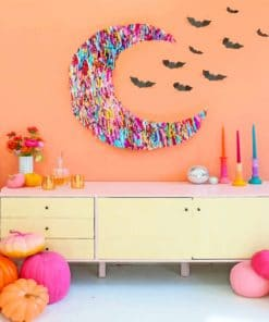 Halloween Decoration paint By Numbers