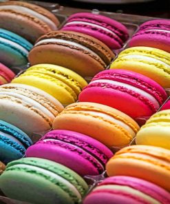 Macaroons paint By Numbers