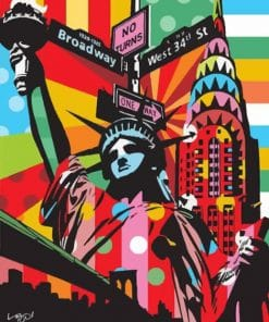 New York paint By Numbers